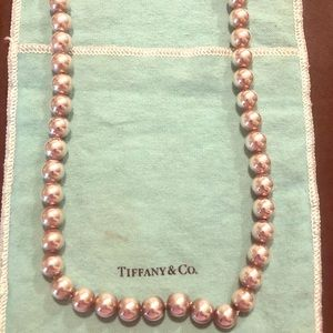 Tiffany & Co. Silver Ball Necklace ❤️❤️